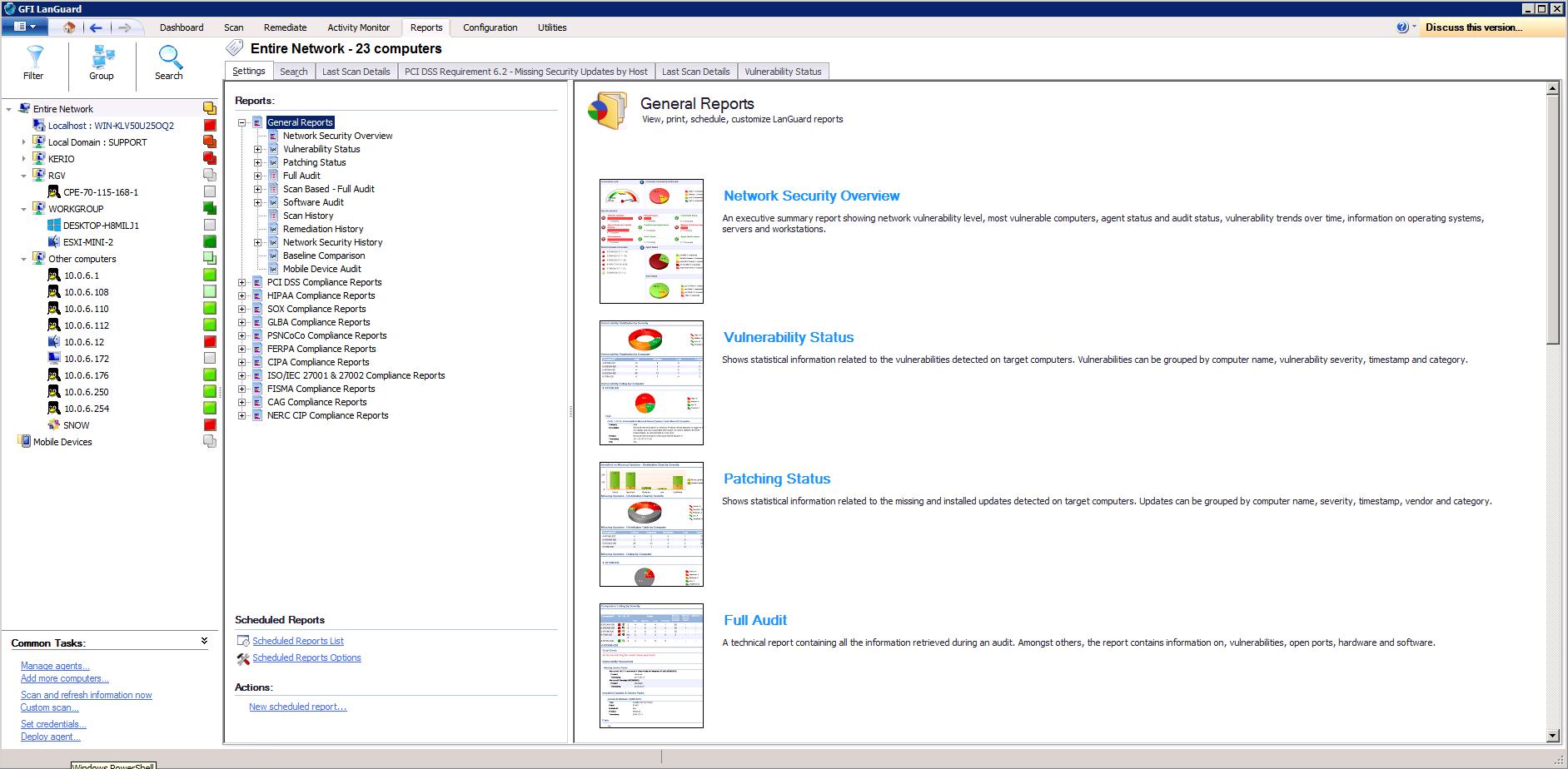 GFI LanGuard features   GFI LanGuard Features